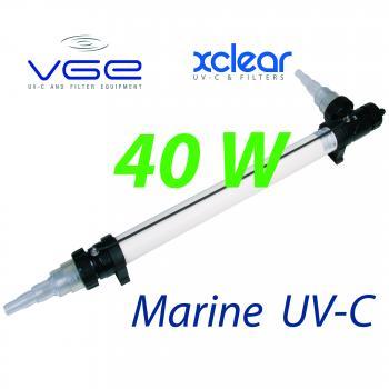 Комплект лампы UV-C XClear Marine 40W для морской и соленой воды