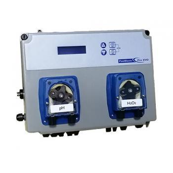 Измерительно-дозирующий прибор PoolBasic pH/OX с двумя встроенными перистальтическими насосами 1,5 л/час-регулирующая станция Kontrol 800 pH / Redoх без насосов