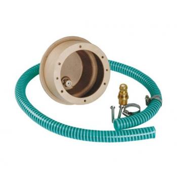 Закладная для прожекторов, Ø- 146 мм (4 цвета/16 диодов; 4 цвета/8 диодов) бронза