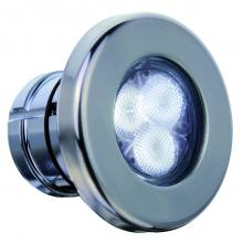 Светильник LumiPlus Mini белый 2.11, накладка нерж.сталь 4Вт (без закладной 15661)