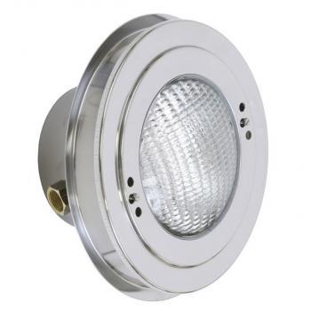 Светильник 300Вт, нерж сталь, под бетон