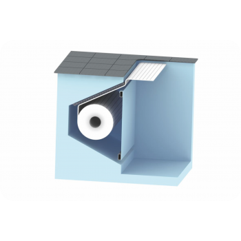 AquaTop - жалюзийное покрытие. Подводное размещение в стеновой нише