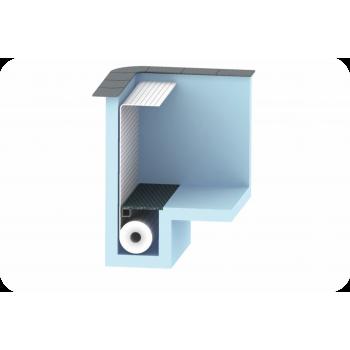 AquaTop - жалюзийное покрытие. Подводное размещение в донной нише