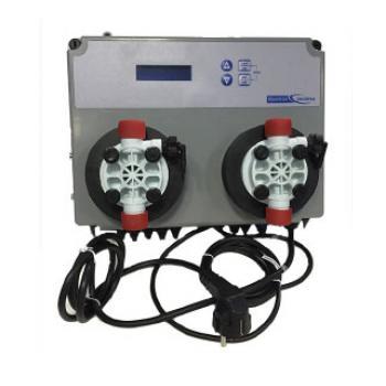 Измерительно-дозирующая станция Kontrol Invikta Double PH-RX с двумя встроенными мембранными насосами 5л/час ModBus